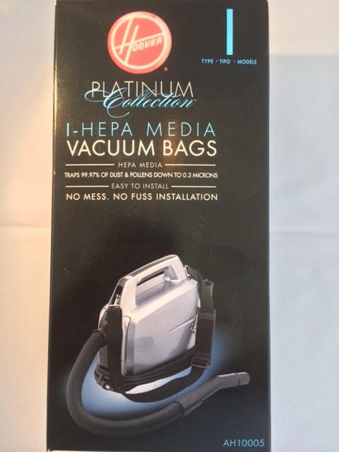 Hoover I Hepa Media Vacuum Bags
