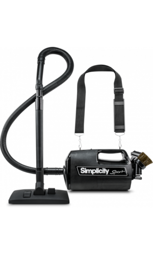 Simplicity S100 Sport Portable Canister w/ Shoulder Strap
